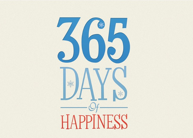 A year of happiness