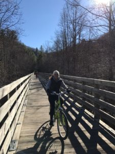 Radfahren @ Virginia Creeper Trail