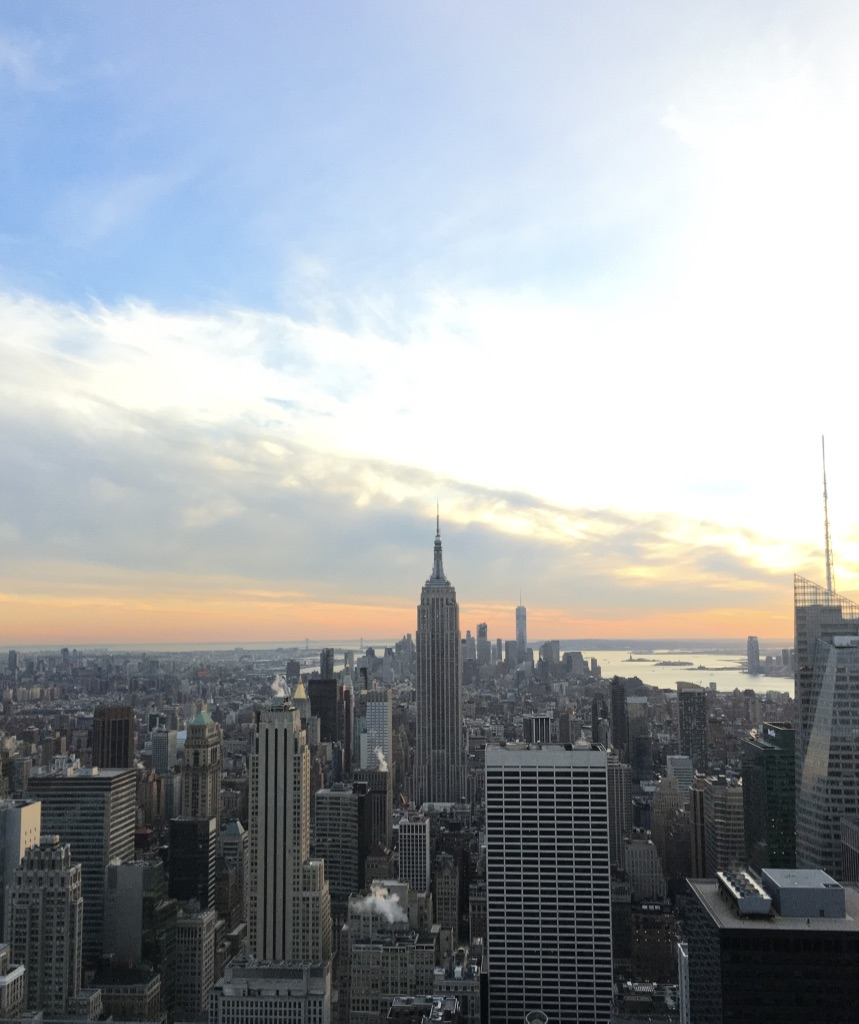 Aussicht von Top of the Rock